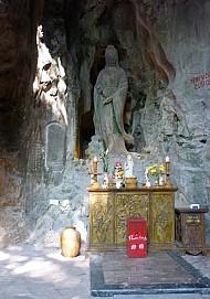 Bia Phổ Đà Sơn linh trung Phật