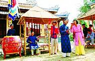 Đà Nẵng tổ chức thí điểm hội bài chòi tại bờ đông sông Hàn