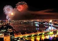 Tỏa sáng sắc màu trong đêm thủy tại Đà Nẵng