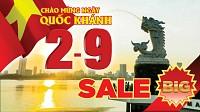 VDN209.41:Tour Đà Nẵng Quốc Khánh 2/9- Hồ Chí Minh- Đà Nẵng- Hội An- Bà Nà 4 Ngày