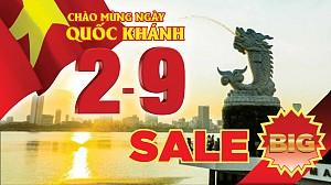 VDN209.41:Hành Trình Quốc Khánh 2/9- Hồ Chí Minh- Đà Nẵng- Hội An- Bà Nà 4 Ngày