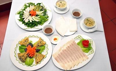 Cách chế biến bánh tráng cuốn thịt heo Đà Nẵng