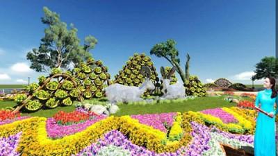 Đà Nẵng Trang Trí Vườn Hoa Phục Vụ Dịp Tết Nguyên Đán