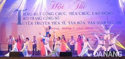 Đà Nẵng: Trên 1000 Công Chức, Viên Chức, Lao Động Tranh Tài
