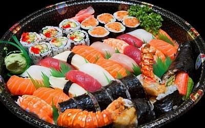 Du lịch Đà Nẵng thưởng thức sushi hè phố