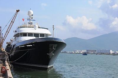 Du Thuyền Dorothea Cập Cảng Đà Nẵng