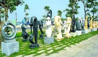 Du xuân bên làng đá Ngũ Hành Sơn Đà Nẵng