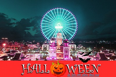 Halloween này đi chơi ở đâu vừa rẻ mà lại vui