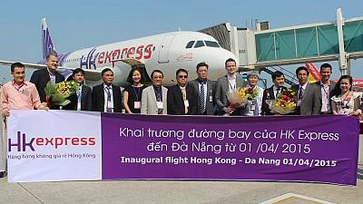 HK Express Khai Trương Đường Bay Đà Nẵng - Hồng Kông