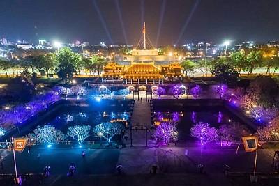 Những điểm du lịch tại đại nội Huế về đêm