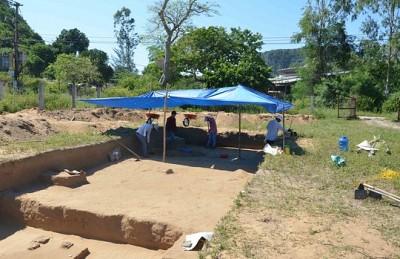 Phát Hiện Nhiều Hiện Vật Cổ Tại Di Chỉ Vườn Đình Khuê Bắc
