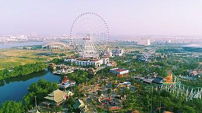 Tận hưởng cảm giác trên không cùng vòng quay mặt trời Sun Wheel - Đà Nẵng 2018