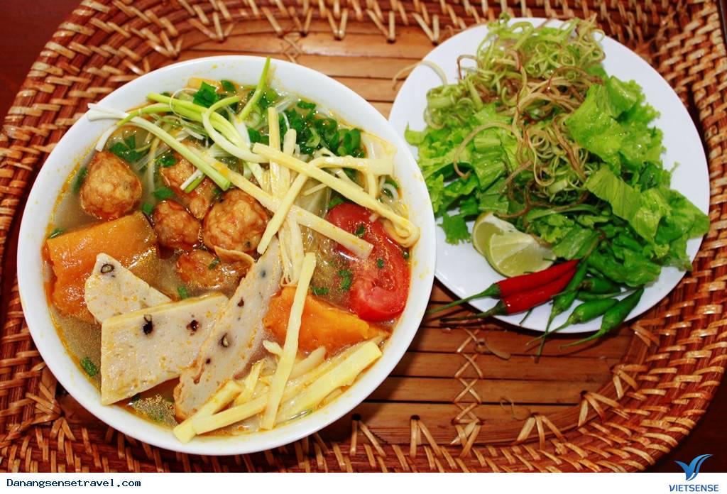 Cách chế biến bún chả cá Đà Nẵng