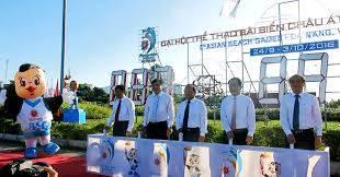 Đà Nẵng tưng bừng chào đón Đại hội Thể thao bãi biển châu Á