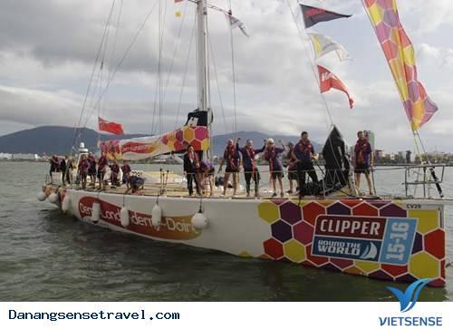Đoàn đua thuyền vòng quanh thế giới cập cảng Đà Nẵng