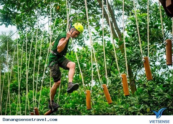 Du lịch Đà Nẵng tham gia 7 trò chơi mạo hiểm