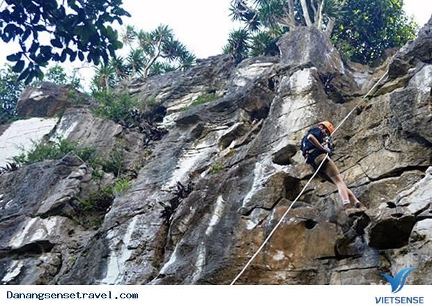 Du lịch mạo hiểm leo núi Ngũ Hành Sơn