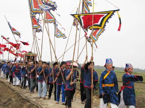 Le Hoi Ruoc Muc Dong, Lễ Hội Rước Mục Đồng