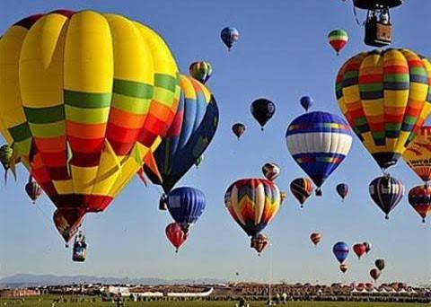 Ngày hội khinh khí cầu tại festival Huế