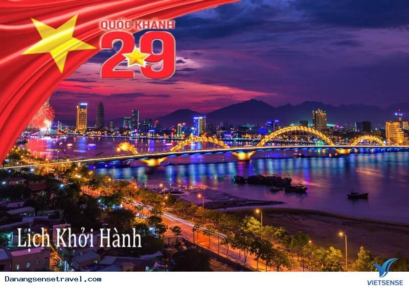 Tổng hợp lịch trình khởi hành tour du lịch biển Đà Nẵng dịp lễ mùng 2 tháng 9