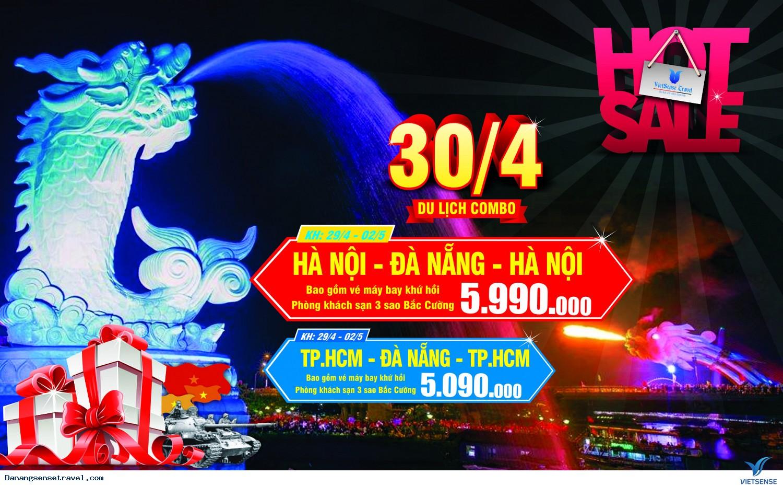 Tour Free And Easy Hồ Chí Minh- Đà Nẵng Lễ Hội Pháo Hoa